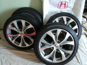 215/45R17 NEW Michelin tires HONDA Civic NEW OEM Alloy rims