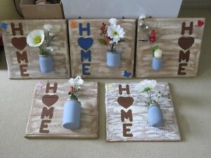Hand Made & Antiqued Wooden Signs