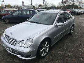 06 REG Mercedes-Benz C220 2.1TD auto Sport Edition