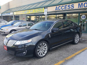2010 Lincoln MKS TOP OF THE LINE Sedan