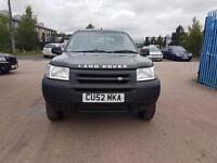 2002 LAND ROVER FREELANDER 1.8 S Station Wagon 3MNTH Warranty AA COVER