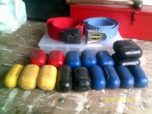 weights and belt