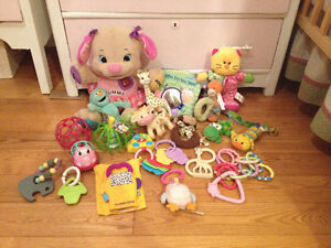 20+ Infant Toys (including Ride on Toy!)