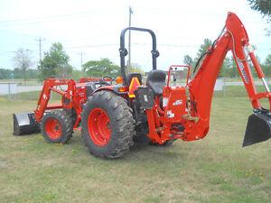 NEW- Kioti DK4510 Tractor, Loader, Backhoe