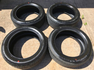LIKE NEW 255 - 50 R 20 HANCOOK TIRES