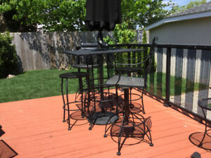 Wrought iron patio furniture sets for sale. Traditional & Bistro