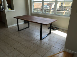 Custom live edge and modern dining tables Cambridge Kitchener Area image 1