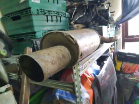 Big bore car back box exhausts