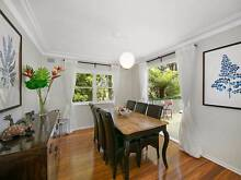 Dining Table French Provincial Wood Oak & Black Formal 8 seater Naremburn Willoughby Area Preview