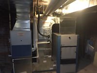 Furnaces and A/C. Gas Oil Propane.