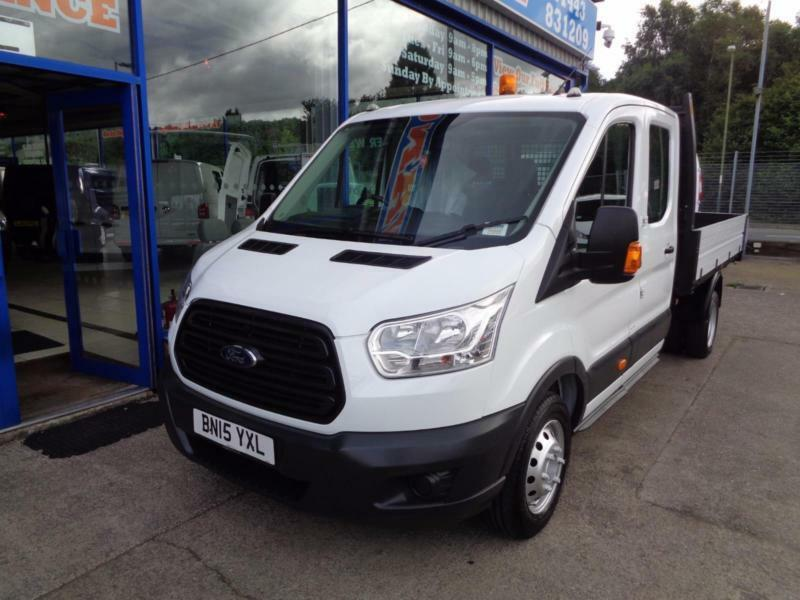 2015 FORD TRANSIT 290 TREND DOUBLE CAB TIPPER INGAMEX BODY .... TIPPER DIESEL