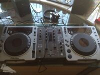 Pair of Pioneer 800 mk1 mixer not included