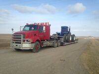 farm equipment ,fertilizer and grain bin moving