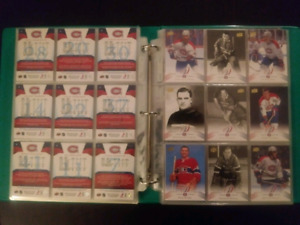 Montreal Canadiens Centenial cards 1-200. Mint.