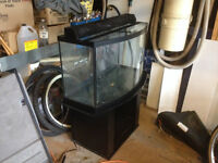 Low Low Priced - 46g Bow Aquariums, Glass Lid & Lights,Stand