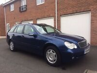 04 Mercedes-Benz C Class Estate 1.8 Petrol *FSH* 1 Owner not a4 avant 3 series touring mondeo vectra