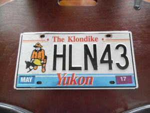 COLLECTOR LICENCE PLATE