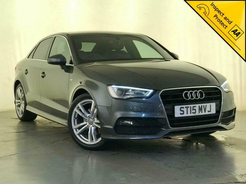 2015 AUDI A3 S LINE TDI SAT NAV BLUETOOTH £20 ROAD TAX 1 OWNER SERVICE  HISTORY | in Luton, Bedfordshire | Gumtree