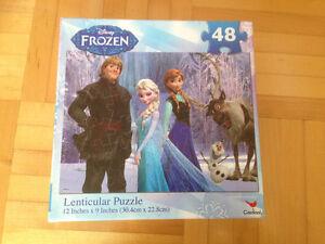 Kit Frozen : 3 livres et un puzzle pour 2-4 ans West Island Greater Montréal image 4