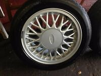 Sierra Sapphire Cosworth 4x4 sharktooth alloy wheel wanted