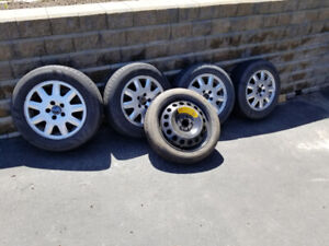 Mags with summer tires