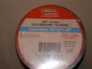 """Lincoln flux cored mig weld .035"""" wire 2lb rolls Kitchener / Waterloo Kitchener Area image 1"""