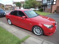 BMW 520 2.0TD M SPORT AUTOMATIC LEATHER SPORTS SALOON WARRANTY FINANCE AVAILABLE