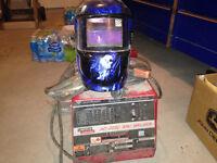 Lincoln ac 225-C arc welder and auto tint helmet