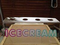 Acrylic Ice Cream Cone Holder