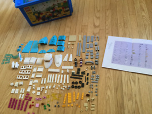 7 Large LEGO Friends kits: some colour subs.
