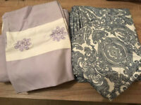 Quilt covers & pillow cases 2 sets (king size)