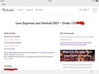 Love Supreme Jazz festival tickets at Glyndbourne.