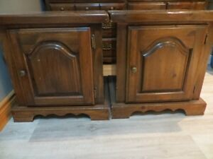 commode + 2 tables chevets