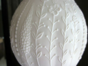 A K Kaiser W Germany Bisque Porcelain Vase M Frey - White Parian Cambridge Kitchener Area image 4