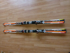 Vokl Parabolic 178 cm Skis with Marker Motion Bindings