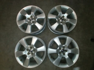 """Toyota Factory Alloy Wheels 17"""" Set of 4 Very Good Condition"""