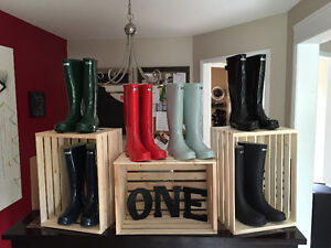 """Brand New """"One Designer"""" """"Hunter Style"""" Boots sizes 6-10"""