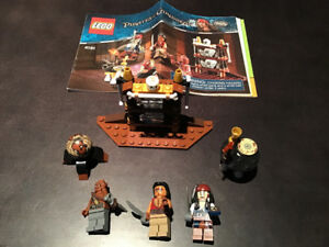 LEGO Pirates 4191 The Captain's Cabin 100% Complete
