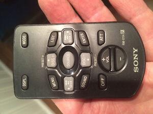 Sony car stereo remote RM -X114