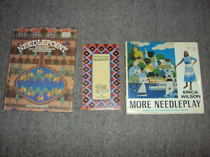 3 Books about Needlepoint