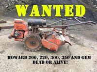 Howard Rotavator rotovator 200 220 300 350 gem