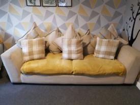 Big Cream sofa cheap