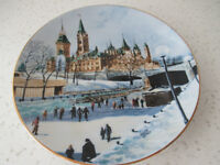 "LIMITED EDITION COLLECTOR PLATE~""SUNDAY AFTERNOON""~"