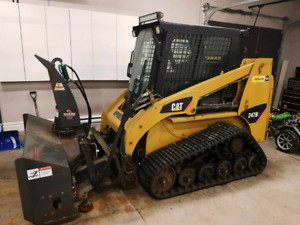 2008 Cat 247 skid steer
