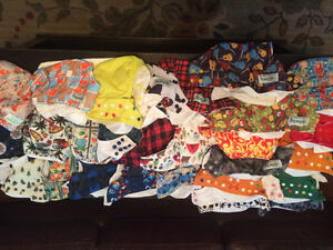 cloth diapers starter kit (essentially)