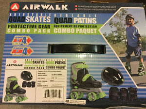 Air walk roller bladeComplete set for a 4 to 5 yr old-never used