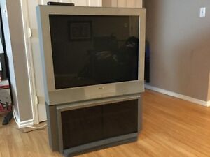 "Free TV 36"" with stand"