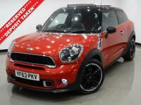 2013 63 MINI PACEMAN 2.0 COOPER SD 143 BHP ALL4 3DR COUPE..NAV..PANROOF..LEATHER