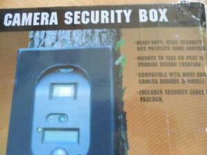Trail Camera security box