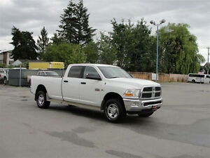 2012 DODGE RAM 3500 CREW CAB LONG BOX 4X4 6 SPEED DIESEL